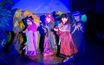 Diễn kịch rối Gala Phù thủy phục vụ  khán giả nhí