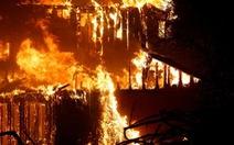 9 đám cháy bủa vây vùng bắc California