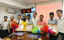 TP.HCM: thưởng 130 triệu đồng cho nhóm cứu hộ vụ chìm tàu Vietsun Integrity