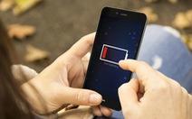 Lạnh quá, pin điện thoại cũng khó bề hoạt động