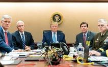 Bức ảnh ông Trump theo dõi chiến dịch tiêu diệt thủ lĩnh IS thật hay dàn dựng?