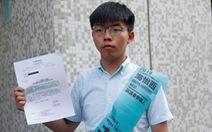 Hoàng Chi Phong 'không hợp lệ tranh cử'