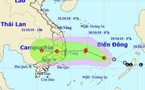 Áp thấp cách Song Tử Tây 140km, miền Trung, Tây Nguyên mưa rất lớn
