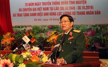 Hợp tác quốc phòng là một trong những trụ cột của quan hệ Việt Nam - Lào