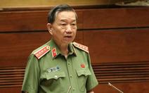Bộ trưởng Tô Lâm: 'Các gia đình bình tĩnh chờ kết quả từ cơ quan chức năng'