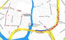 Sửa đường Nguyễn Hữu Cảnh, xe đi đường nào?