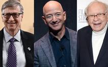 Tỉ phú Jeff Bezos vẫn giàu nhất nước Mỹ, vợ cũ đứng thứ 15