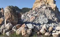 Đá lăn, một công nhân khai thác đá tử vong