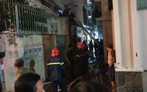 Cháy nhà kho trong hẻm quận 5, nhiều tài sản bị thiêu rụi