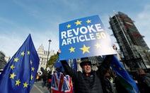 Brexit có quay lại vạch xuất phát?