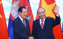 Thủ tướng Campuchia Hun Sen bắt đầu thăm chính thức Việt Nam