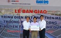 Thêm 2 trường học miền núi Quảng Nam có điện mặt trời
