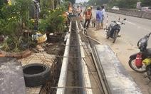 Triển khai dự án chống ngập đầu tiên trên quốc lộ 1 ở miền Tây
