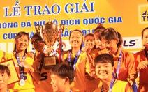 CLB Hà Nội giành ngôi á quân bóng đá nữ vô địch quốc gia 2019