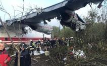Máy bay rơi vì hết xăng, nhiều người thiệt mạng