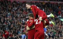 Thắng nghẹt thở Leicester ở phút 90+5, Liverpool bỏ xa M.C 8 điểm