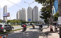 Chính thức rào chắn đường, sửa chữa 'rốn ngập' Nguyễn Hữu Cảnh