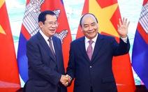 Việt Nam, Campuchia nhất trí xử lý vấn đề Biển Đông dựa trên UNCLOS