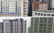 Vì sao Triều Tiên che chắn cửa sổ các tòa nhà cao tầng?