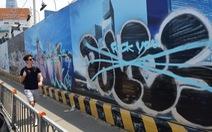 Graffiti nghệ thuật đích thực không bôi bẩn đường phố