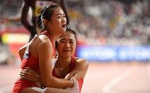 'Màn trình diễn thảm họa' của đội tuyển nữ điền kinh Trung Quốc