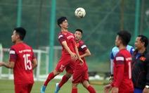 Công Phượng tập buổi đầu tiên cùng đội tuyển Việt Nam