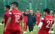 Lực lượng không đầy đủ trước trận tiếp Malaysia: Ông Park gặp khó khăn