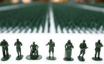 40.000 chú lính đồ chơi khắc họa thân phận người lính giải ngũ