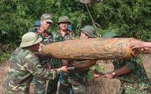 Xử lý thành công quả bom nặng 226kg ở Quảng Bình