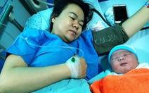 Một sản phụ sinh bé trai nặng 5,1kg