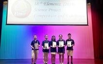 Học sinh Vinschool thắng giải nghiên cứu khoa học quốc tế