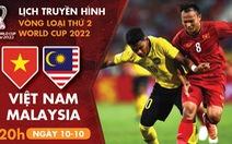 Lịch trực tiếp tuyển Việt Nam - Malaysia, U19 Thái Lan - Việt Nam