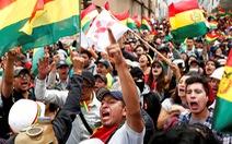 Biểu tình rầm rộ ở Bolivia, quân đội đứng về phía người dân