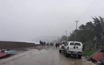 Bão số 6: Đảo Lý Sơn gió giật cấp 9, Phú Yên đã có mưa lớn