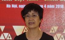 Bà Nguyễn Thị Hồng Ngát xin thôi duyệt phim sau vụ 'đường lưỡi bò'
