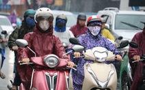 Bắc Bộ có nơi dưới 16 độ C, Nam Bộ mưa dông vào chiều tối