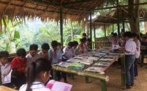 Thư viện xanh nơi lòng hồ Bản Vẽ