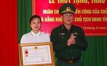Truy tặng Huân chương chiến công hạng nhất cho thiếu tá đánh án ma túy hi sinh