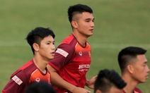 Tuyển Việt Nam chốt danh sách 23 cầu thủ đấu UAE: Hoàng Đức được tin tưởng