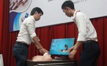 Trường đại học làm sản phẩm huấn luyện kỹ năng cấp cứu tim, phổi