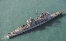 Tàu chiến Mỹ lại đi qua eo biển Đài Loan, lần thứ 9 trong năm nay