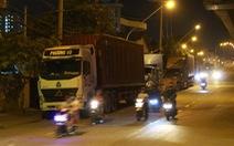 Xe tải vào đường cấm, giờ cấm ở TP.HCM phải xử lý ra sao?