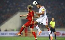 Việt Nam - UAE (hiệp 1) 0-0: Việt Nam tạo thế trận chủ động