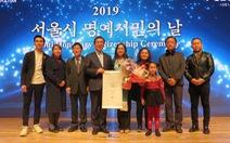 Người Việt đầu tiên được vinh danh 'Công dân danh dự Seoul' là người Đà Nẵng