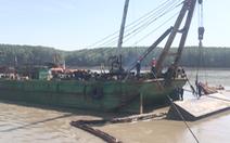 Video: Trục vớt tàu chìm tại Cần Giờ