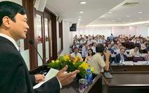 Cách chức hiệu trưởng ĐH Tôn Đức Thắng với ông Lê Vinh Danh
