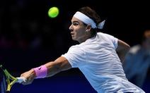 Vừa chắc hết năm 2019 mình số 1 thế giới, ai dè Nadal 'văng' khỏi ATP Finals