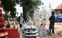 Vụ chùa triệu đô xây 'chui': 4 cán bộ xã xin nhận khiển trách