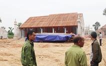 Để chùa 'triệu đô' xây 'chui' trên đất di tích, xã nói không biết vùng bảo vệ