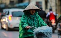 Sáng mai đầu tuần không khí lạnh sẽ 'đổ bộ', Bắc Bộ mưa rào